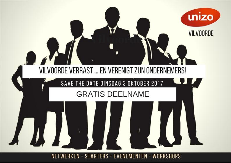 Unizo Vilvoorde - Event - 3 oktober 2017