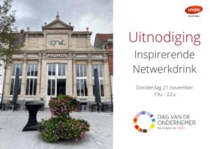 Inspirerende Netwerkdrink - Dag van de Ondernemer